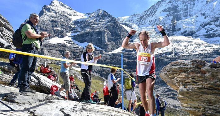 Jungfrau Marathon mit Eiger