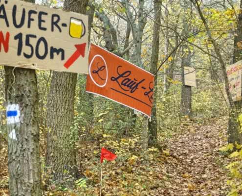 Trail in Thüringen